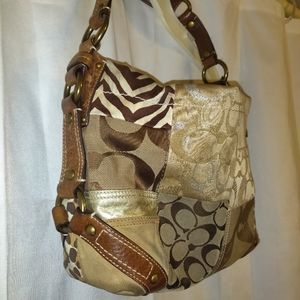 COACH Carly Brown Patchwork Limited Edition!